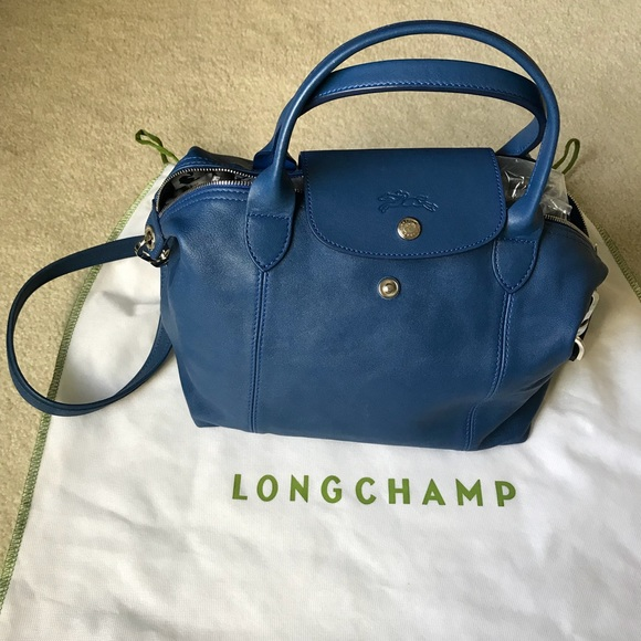 Longchamp Handbags - Longchamp Le Pliage cuir small crossbody c710c711b0